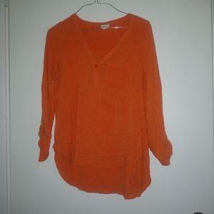 Orange Merona Blouse